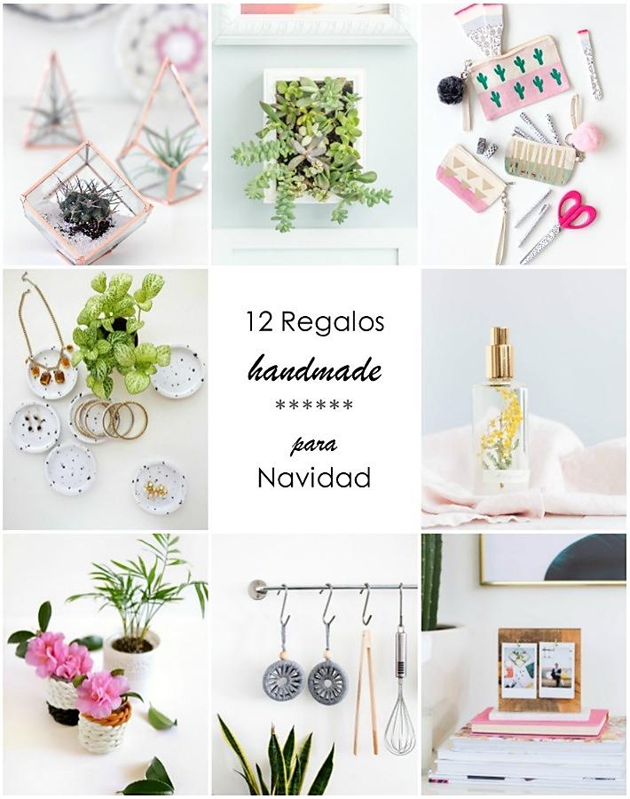 12 Regalos handmade para Navidad