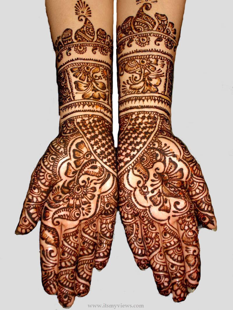 Best Mehndi: Best-mehandi-designs: Best Floral Mehandi Designs