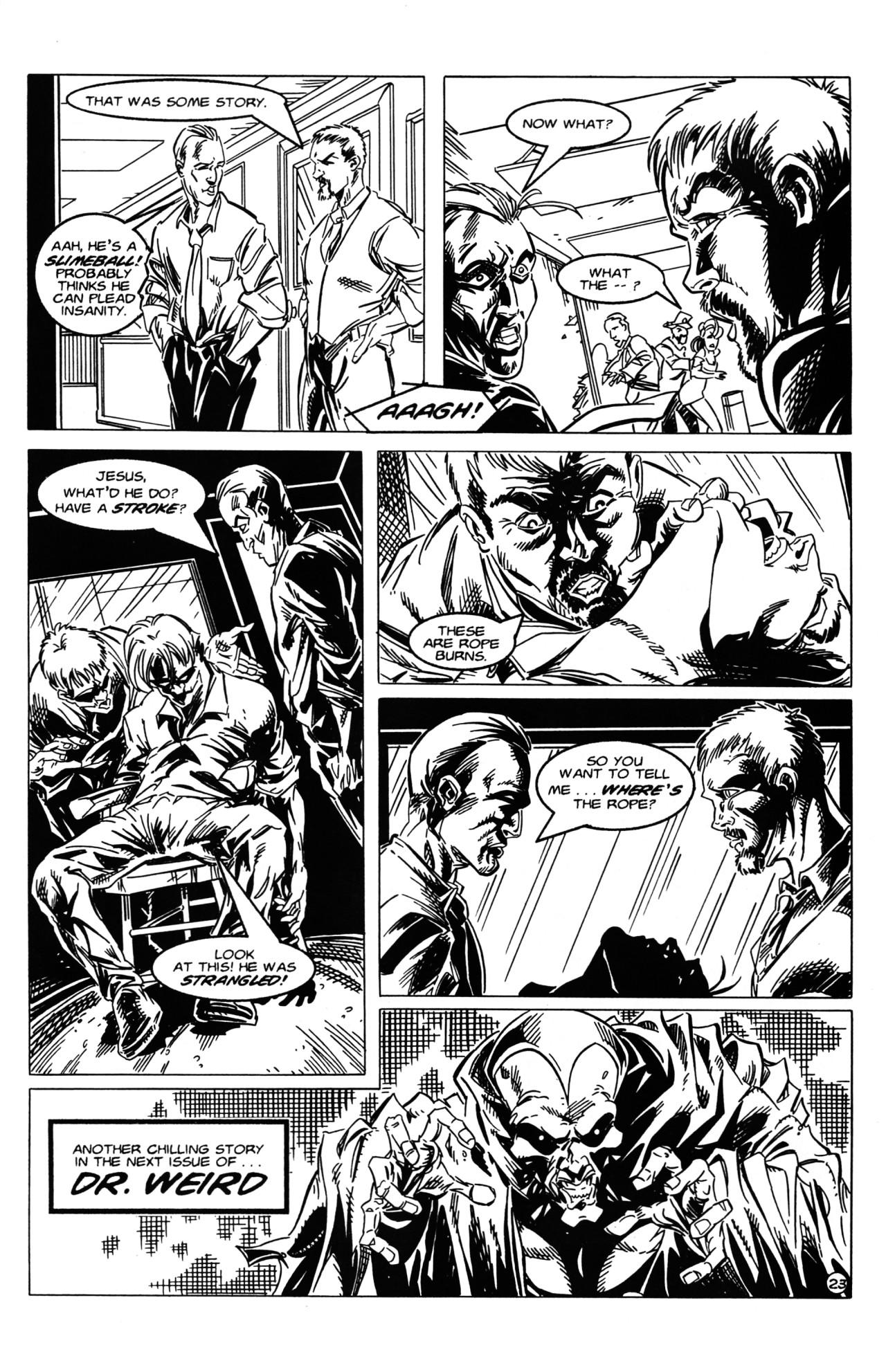 Read online Dr. Weird (1997) comic -  Issue #2 - 25