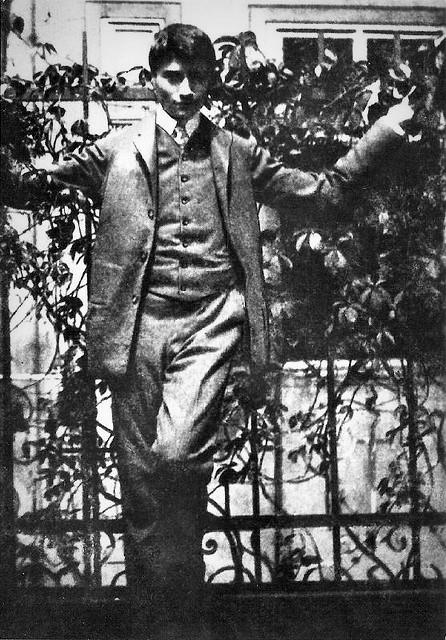 Young Franz Kafka