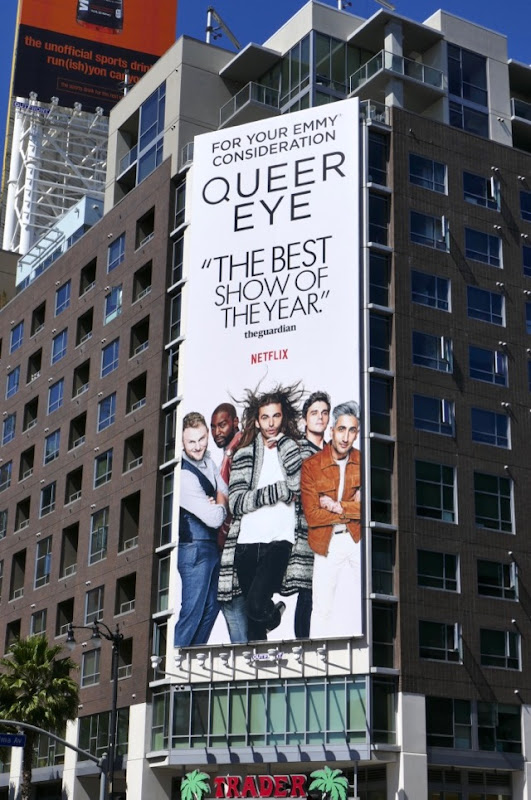 Queer Eye season 1 Emmy FYC billboard