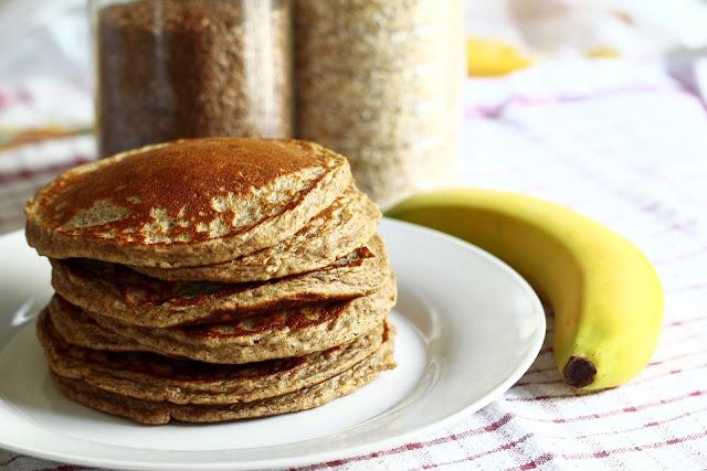 pancakes pełnoziarniste przepis