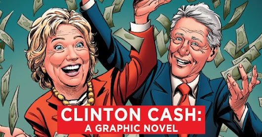 'Clinton Cash' is now a comic book!