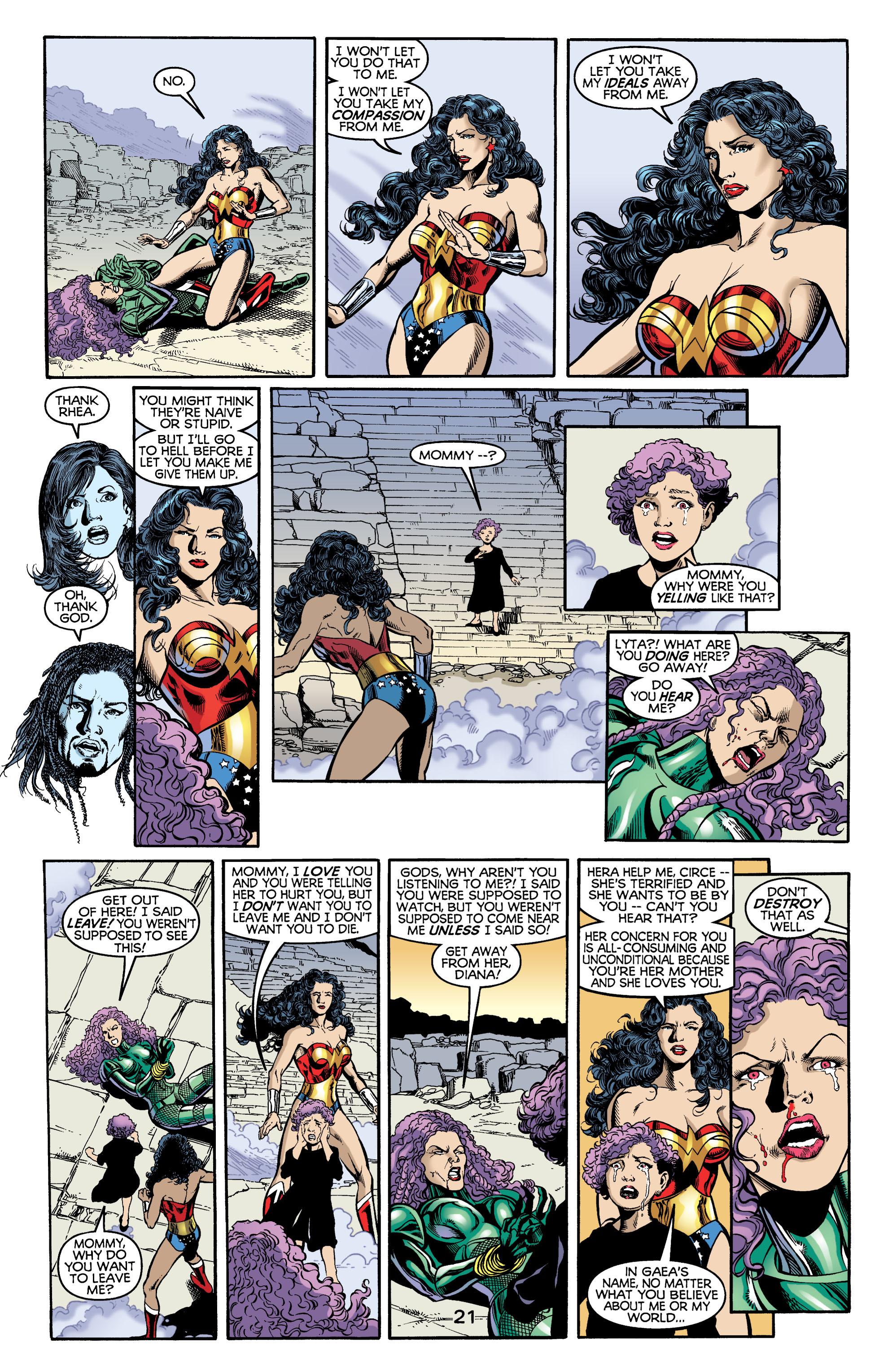 Read online Wonder Woman (1987) comic -  Issue #176 - 22