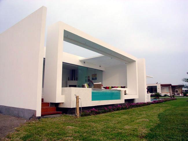 Casa detalles casa frente al mar for Casas modernas junto al mar
