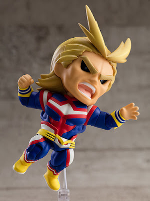 Figuras: Increíble Nendoroid de All Might de My Hero Academia - Good Smile Company
