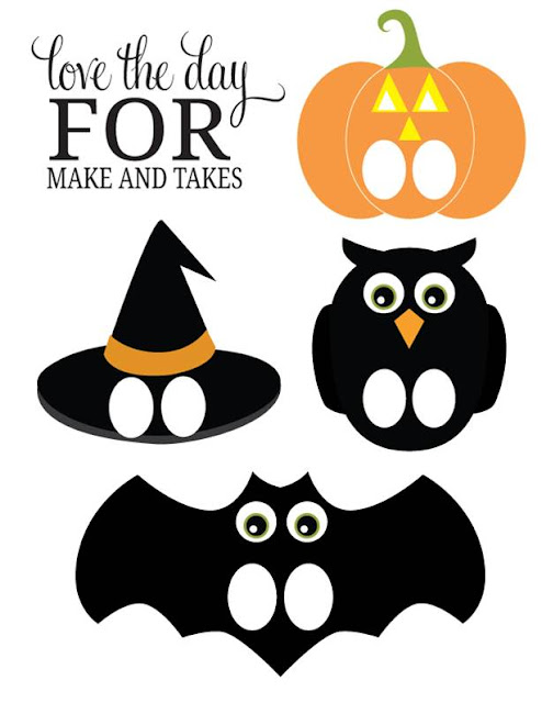 http://www.makeandtakes.com/printable-halloween-finger-puppets