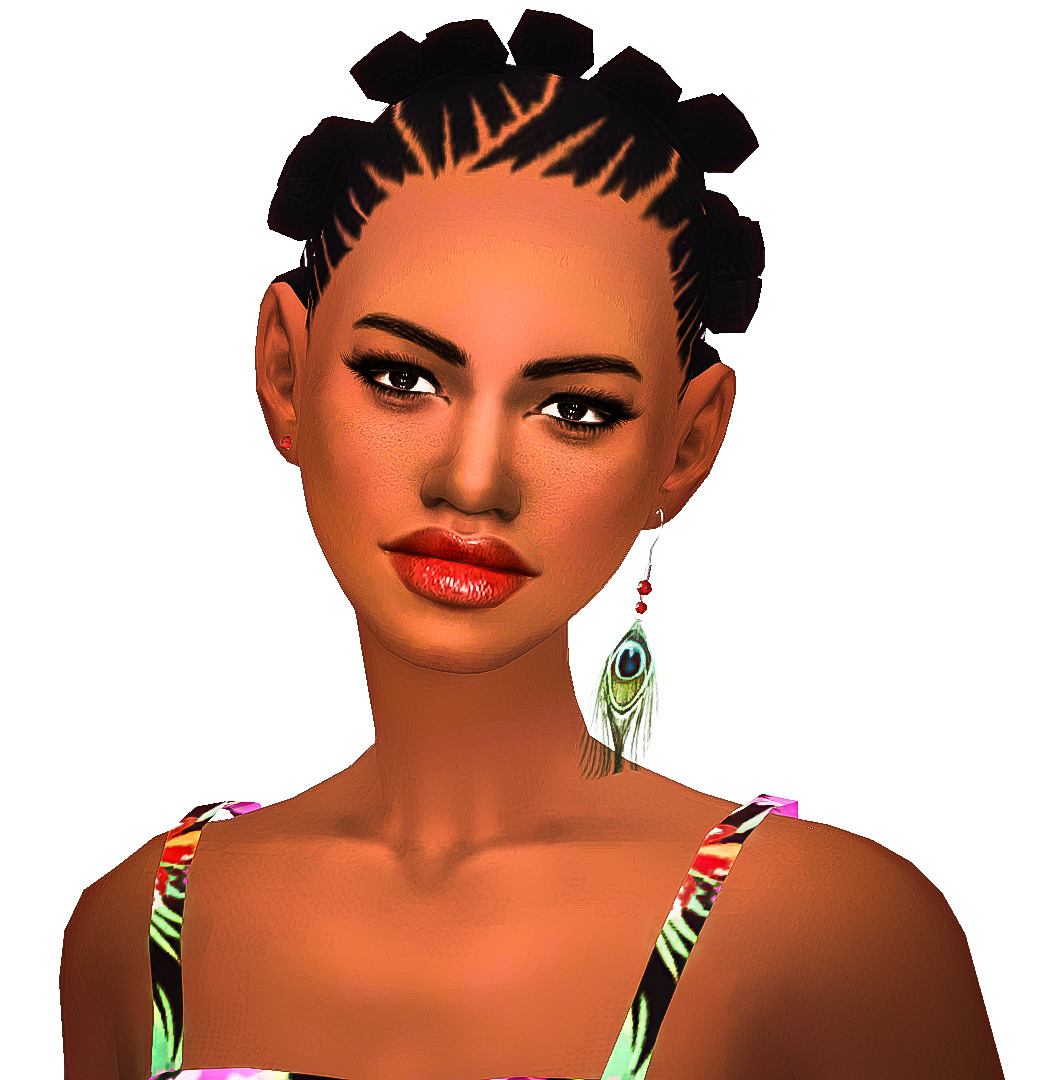 Sims 4 Hairstyles: My Sims 4 Blog: Modish Kitten Hair Conversions By EbonixSimblr