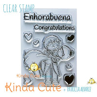 Wedding clear stamp set