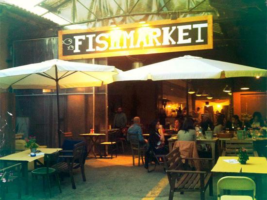 Fish Market Pietralata Roma