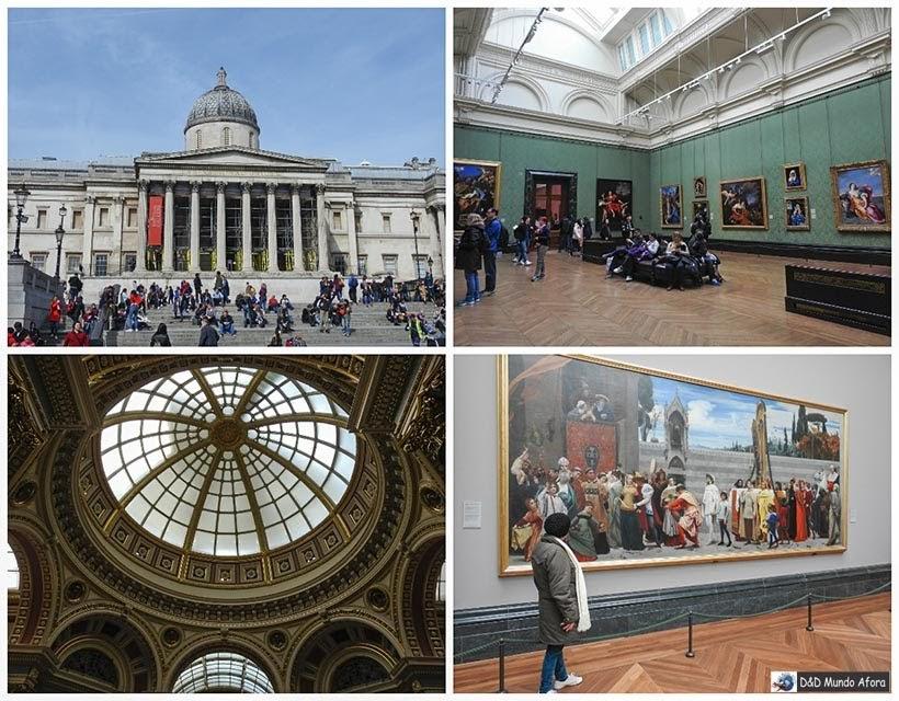 Museu National Gallery - Diário de Bordo - 5 dias em Londres