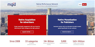 Mgid native ad network