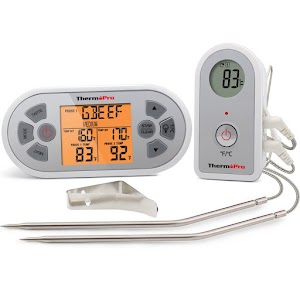 Review of Thermopro TP22 Digital Wireless Remote Cooking Food Meat Thermometer