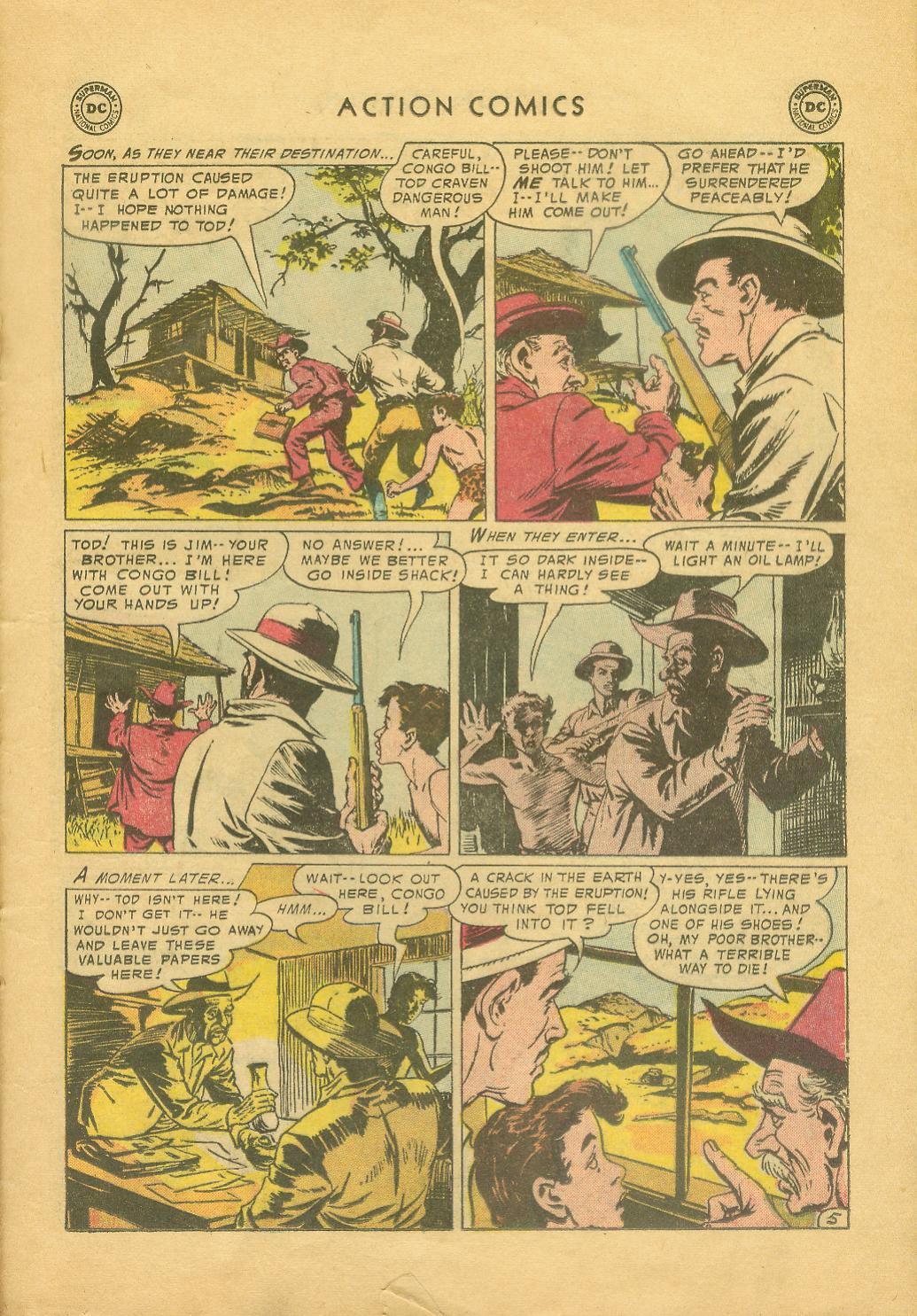 Read online Action Comics (1938) comic -  Issue #216 - 22