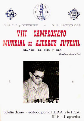 Portada del último boletín del VIII Campeonato Mundial Juvenil de Ajedrez