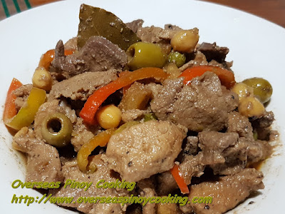 Pork Igado with Olives