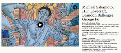 http://whyy.org/cms/articulate/michael-sakamoto-h-p-lovecraft-brandon-ballengee-george-fu/