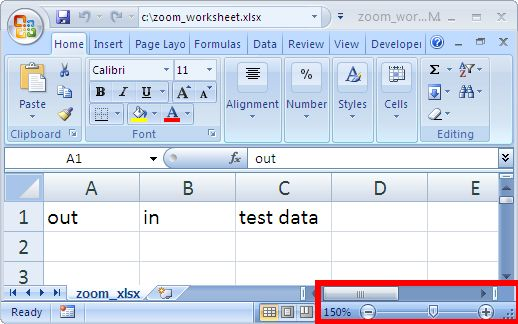 Set Zoom in Excel - Java POI Example Program | ThinkTibits!
