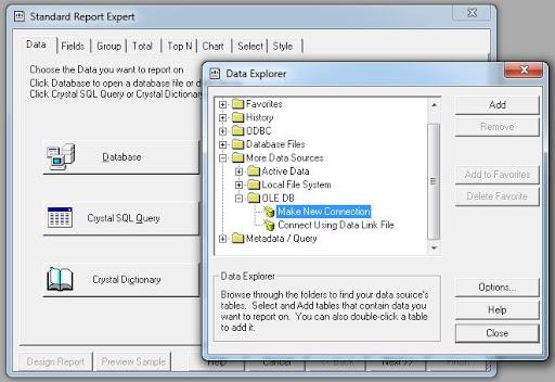 Cara Membuat Laporan Crystal Report Database SQL Server