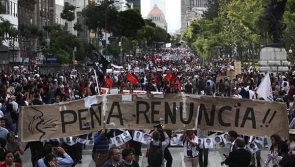Mexicanos realizarán este jueves marcha #RenunciaYa contra EPN