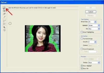 Cara Mengganti Warna Background Foto Dengan Extract Photoshop