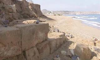 Ηράκλειο: Η κακοκαιρία έφερε στο «φως» μινωικό ιερό