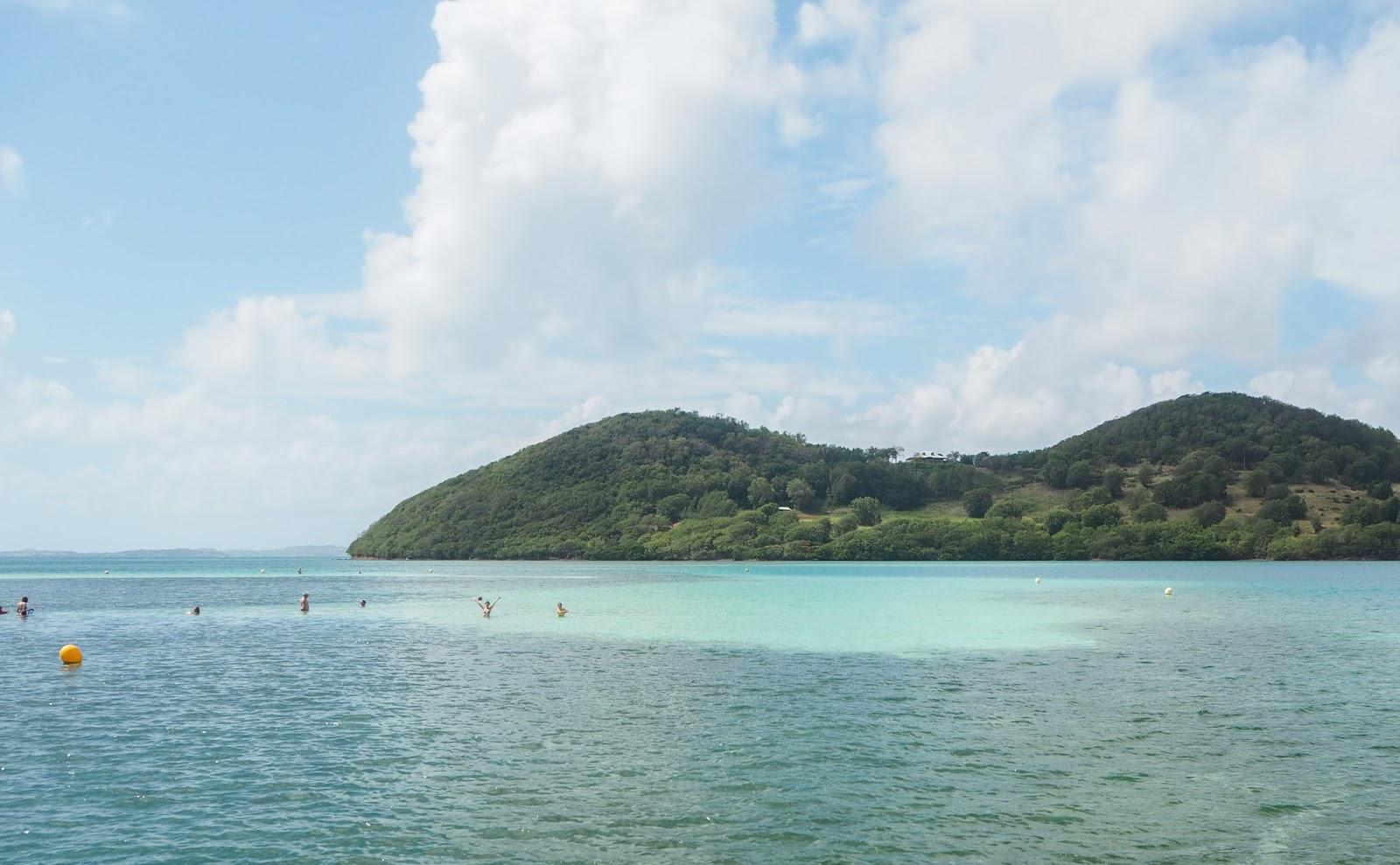 Martinique eau turquoise