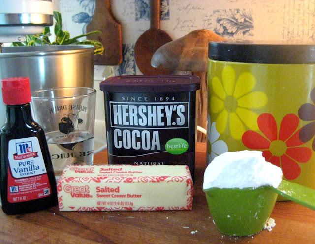 My Homemade Life: Surprised Again! Refrigerator Chocolate