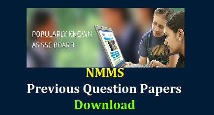 AP TS NMMS Previous Question Papers Download  National Mean cum Merit Scholarships Previous Question Papers Download here | Telangana NMMS Previous Question Papers Download | AP NMMS Previous Question Papers Download Board of Secondary Education AP and Telangana conduct the National Mean cum Merit Scholarship Scheme Examination for 8th Class Meritorious students Official website to get these NMMS Previous Question Papers is www.bseap.gov.in. NMMS Preious Question papers are available of both Telugu and English Medium here ap-telangana-ts-nmms-previous-question-papers-download