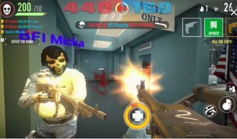 PAYDAY: Crime War Apk+Data Free on Android Game Download
