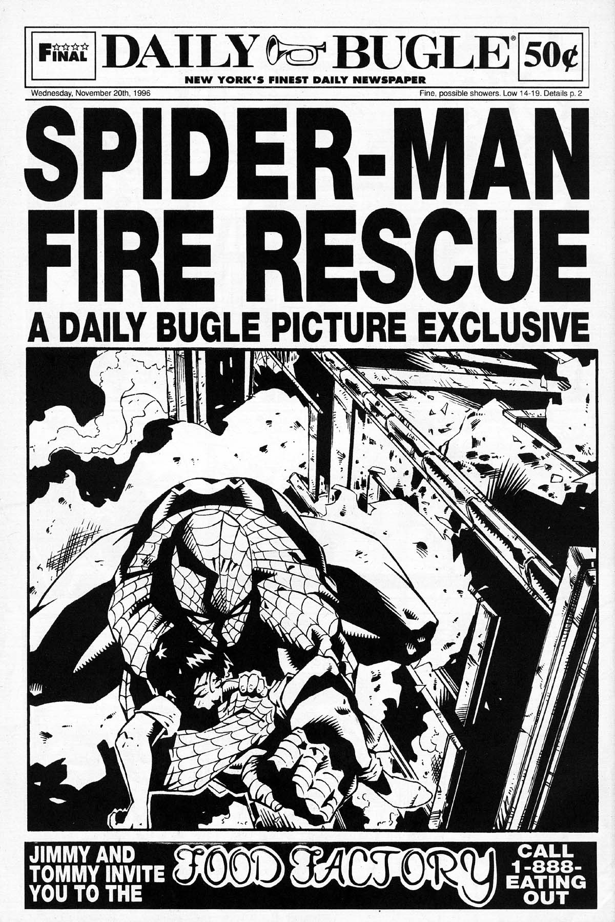 Read online Daily Bugle (1996) comic -  Issue #2 - 30