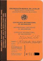 Certificado internacional de vacunación, vuelta al mundo, round the world, La vuelta al mundo de Asun y Ricardo, mundoporlibre.com