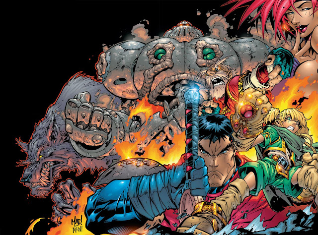 battle chasers wallpaper