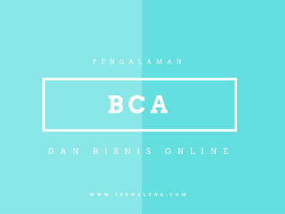 BCA dan Bisnis Online
