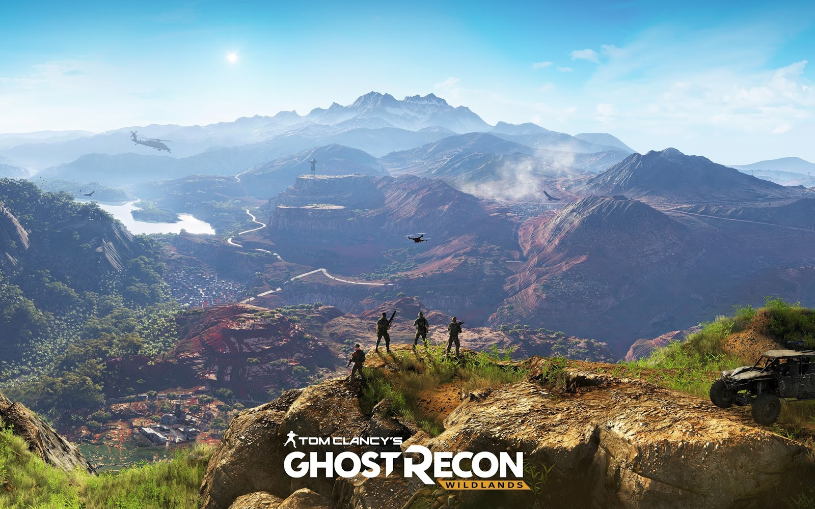 تحميل لعبة tom clancy's ghost recon wildlands