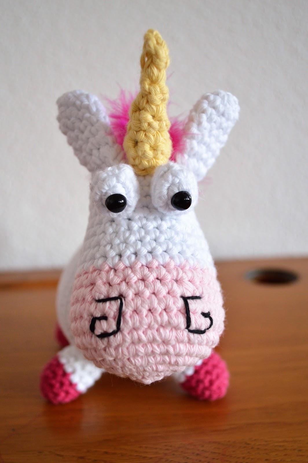 La Licorne De La Petite Agnès Au Crochet Tuto Inside 2