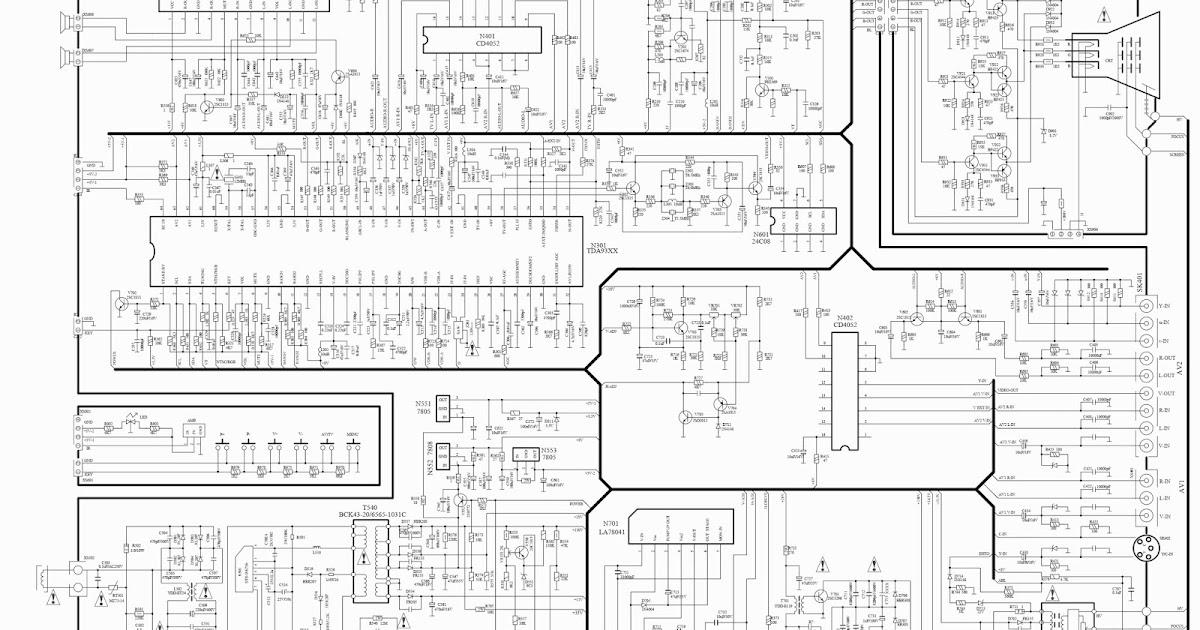 philips 29pt850912 schematic diagram
