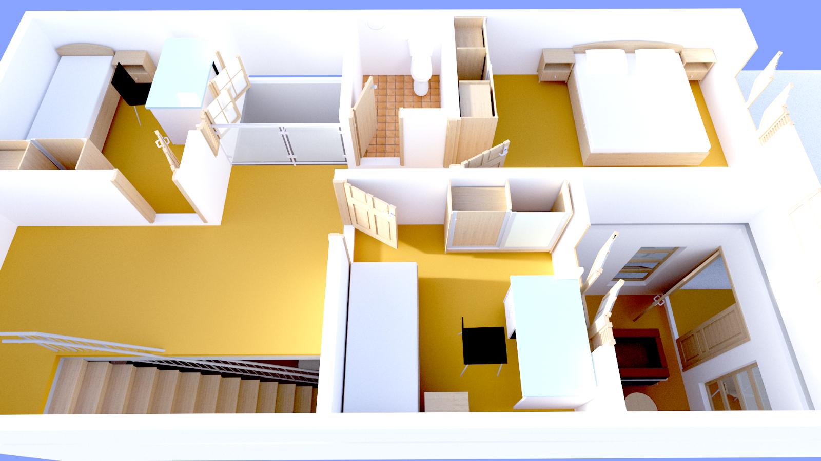 Renovasi Rumah Tumbuh Type 36 | Desain Rumah Template