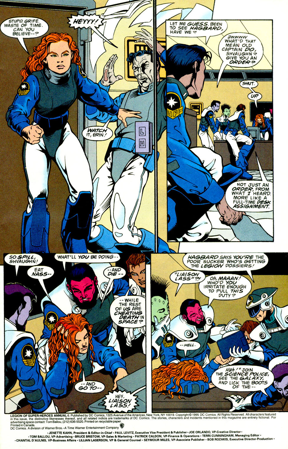 Legion of Super-Heroes (1989) _Annual_5 Page 2