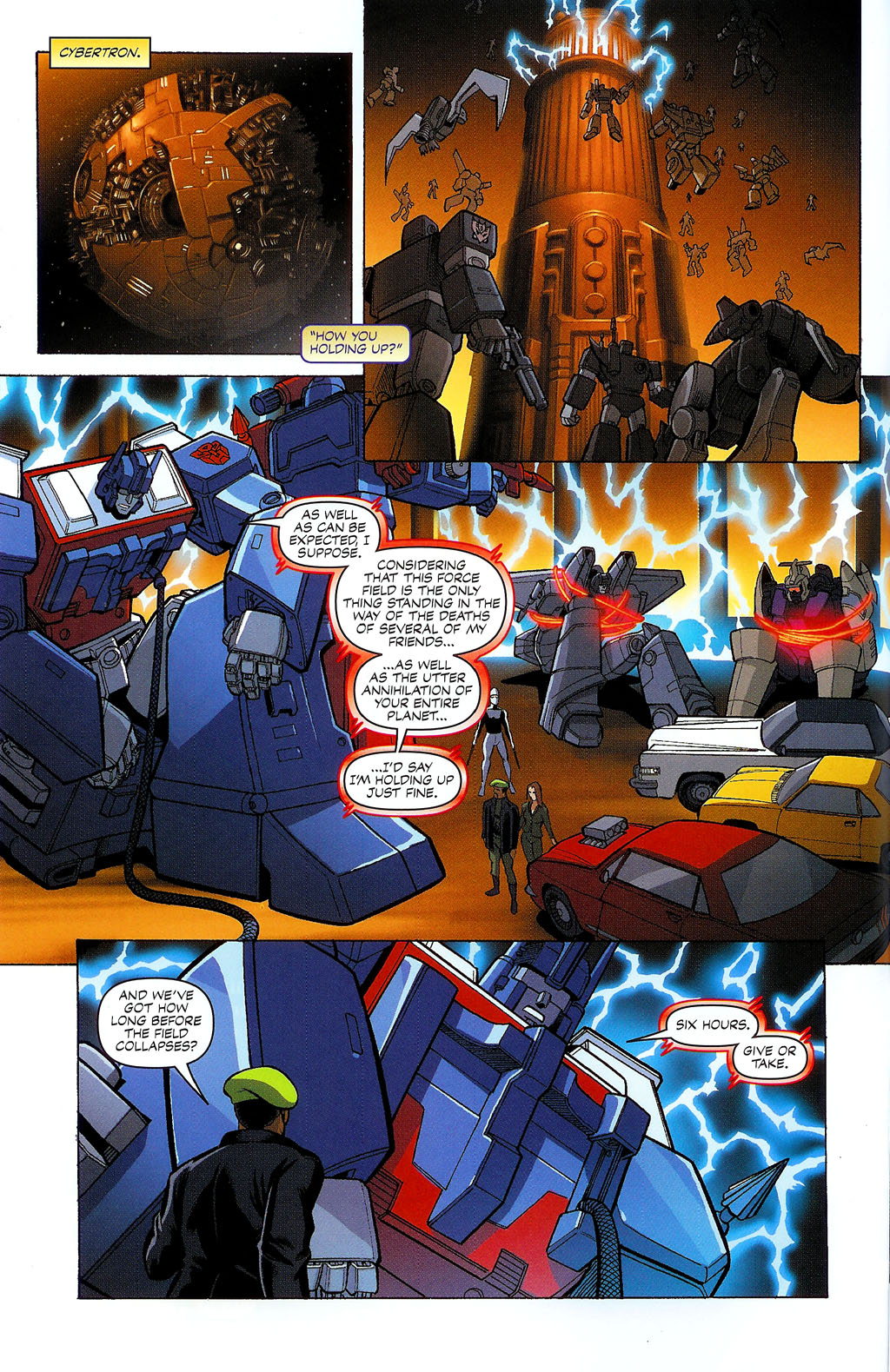 G.I. Joe vs. The Transformers II Issue #2 #3 - English 11
