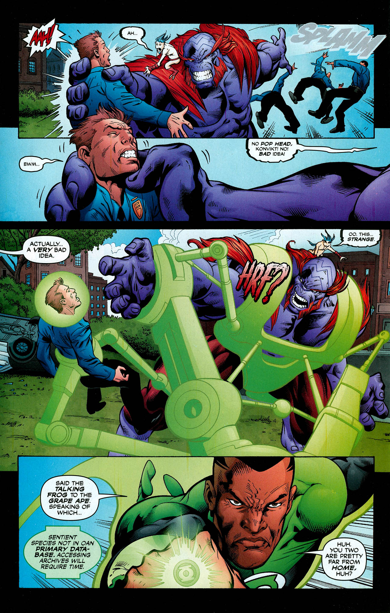 Read online Trinity (2008) comic -  Issue #2 - 24