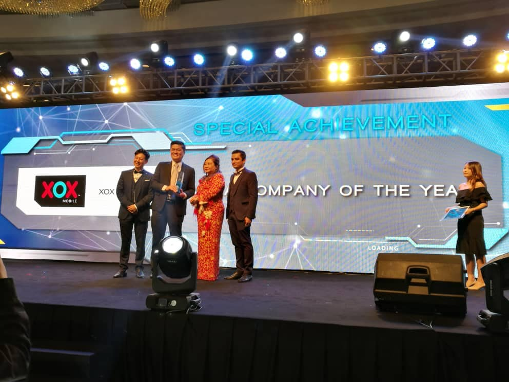 XOX Berhad Company of the Year 2018 MBEA