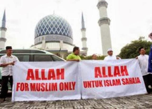"""Malaysia Larang Warga Non Muslim Gunakan Kata """"Allah"""", Allah Hanya Tuhan Milik Umat Islam"""