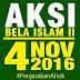 RESPON JOKOWI ATAS KASUS PENISTAAN AL-QUR'AN DAN  411....
