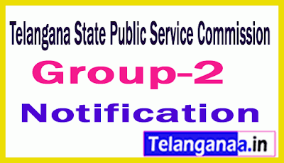 TSPSC 2019 Group-2 Services Notification