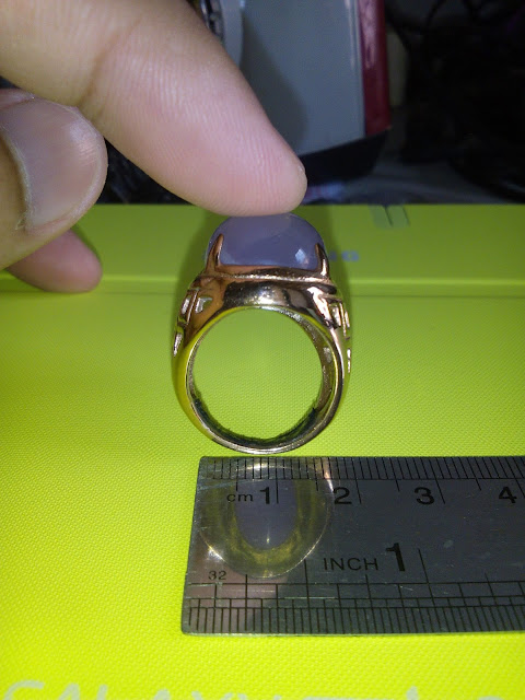 Diameter ring titanium