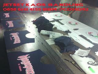 Pabrik Sablon Kaos Distro terMurah Terbaik di Bandung