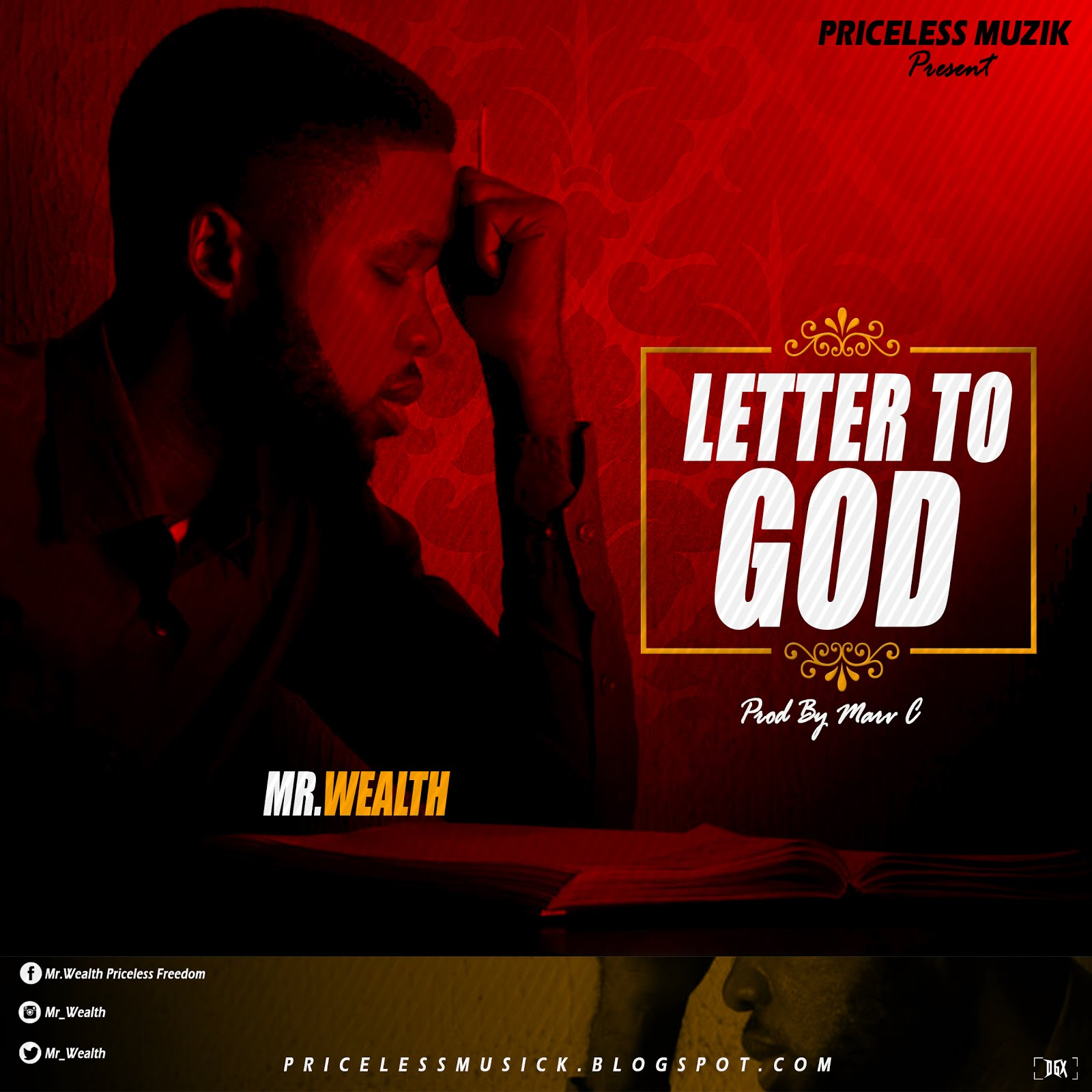 Amazing Singer Known as Mr. Wealth Is Set To Drop Another New single (LETTER TO GOD)