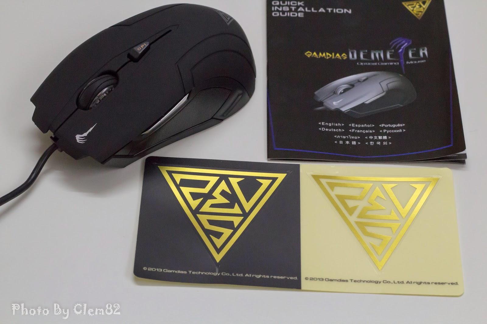 Gamdias Demeter Optical Gaming Mouse 3