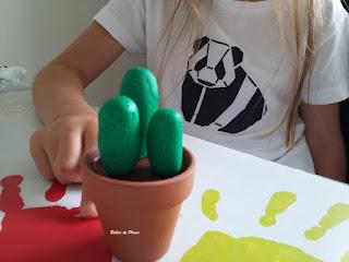 Bulles de Plume DIY Cactus pâte durcissante